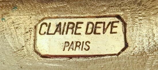 Signed Claire Deve Paris