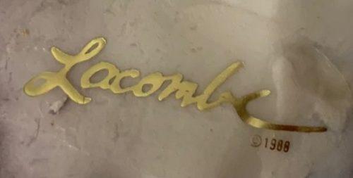 Signed Lacombe 1988