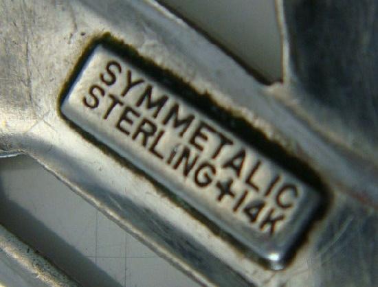 Symmetalic Sterling + 14 K