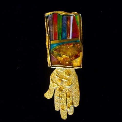 'Hand of Fortune' Brooch