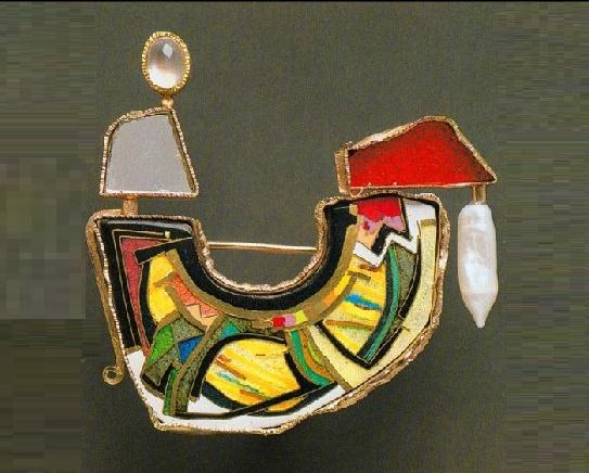 Maharajah I. 1988 brooch