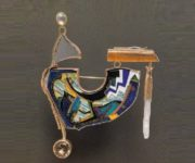 American enamel artist jeweler William Harper