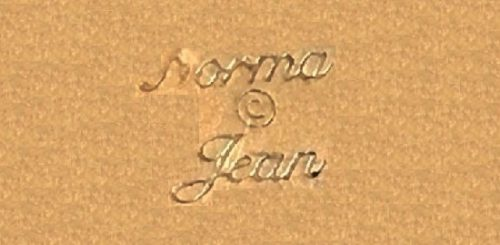 Signed Norma Jean
