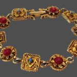 Signed Marboux vintage costume jewelry