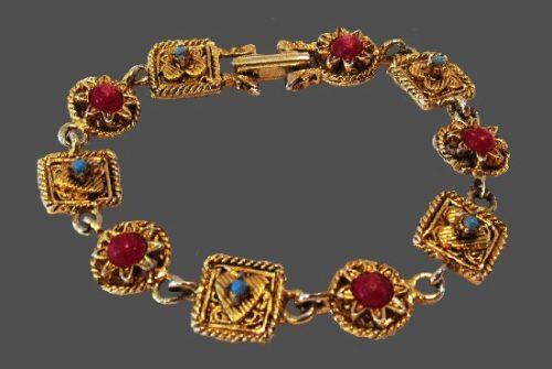 Signed LJM vintage bracelet. 1960s