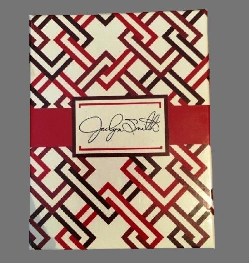 Box signed Jaclyn Smith