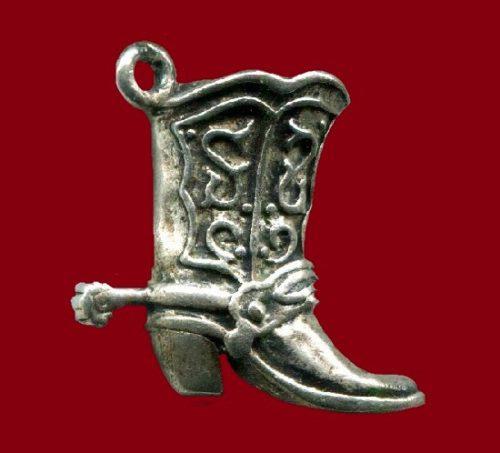 Cowboy boot charm