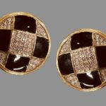 Signed Gay Boyer vintage costume jewelry