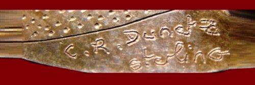 Signature C.R. Dunetz Sterling