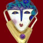 Signed CR Dunetz costume jewelry