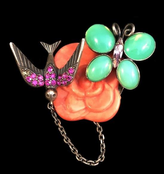 Philippe Ferrandis vintage costume jewelry