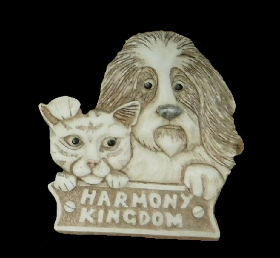 2003 Dog and Cat pendant