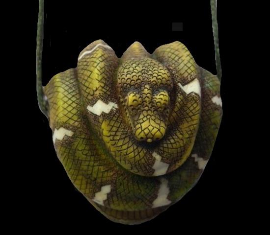 2013 creation Snake pendant