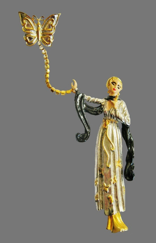 Erte Art Deco jewelry
