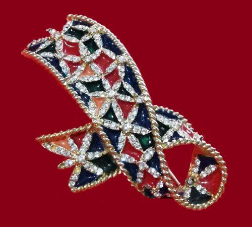 Gontie Paris vintage costume jewelry