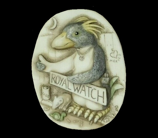 Royal Watch I love Mexico vintage early 2000s pendant