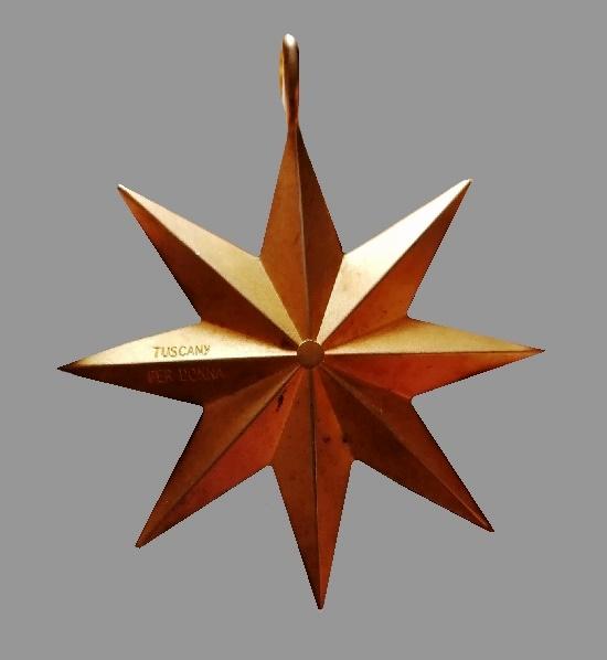 Star pendant Tuscany for Estee Lauder. 1990s