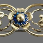 Signed LS Louis Stern vintage costume jewelry