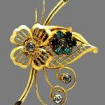 Harry Iskin vintage costume jewelry