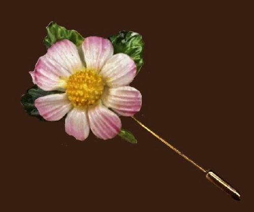 1960s flower pin. 1960s. 7 cm
