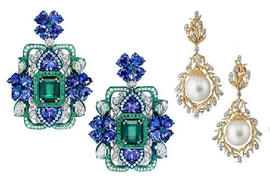 2017 high-jewelry collection earrings