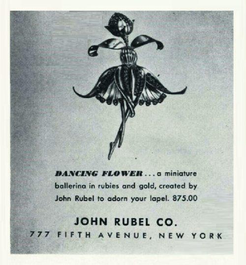 Dancing flower 1943 poster