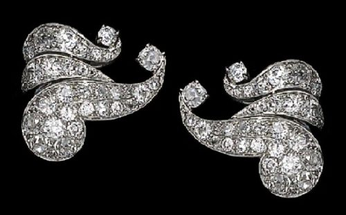 Diamond set - earrings