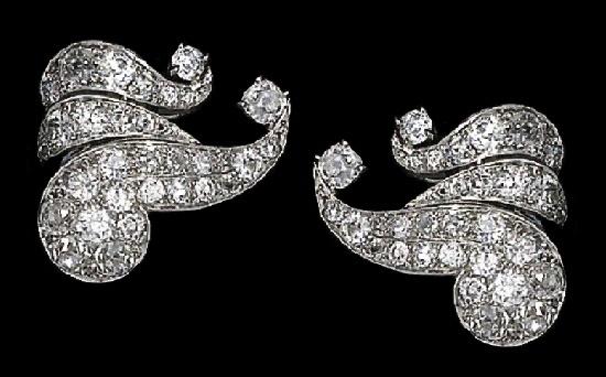 Diamond set - earrings
