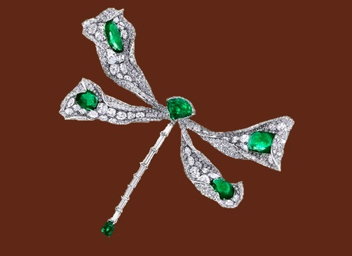 Dragonfly brooch from 2017 high jewellery collection