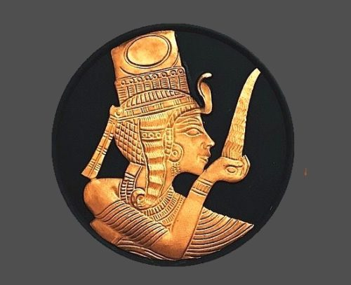 Egyptian collection pendant, limited edition. 7 cm, 1970s