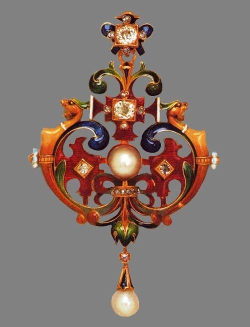 Fabulous work of jewelry art - pendant