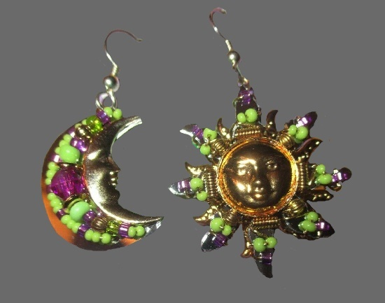 Heavenly Bodies Pierced Earrings, 2005