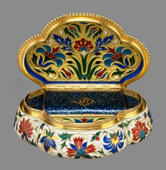 Jewellery box, 1875