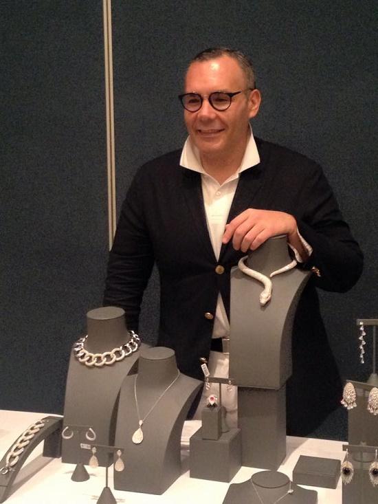 Jewelry designer Daniel Espinosa