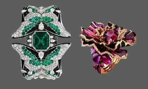 Rings from 2017 high-jewelry collection