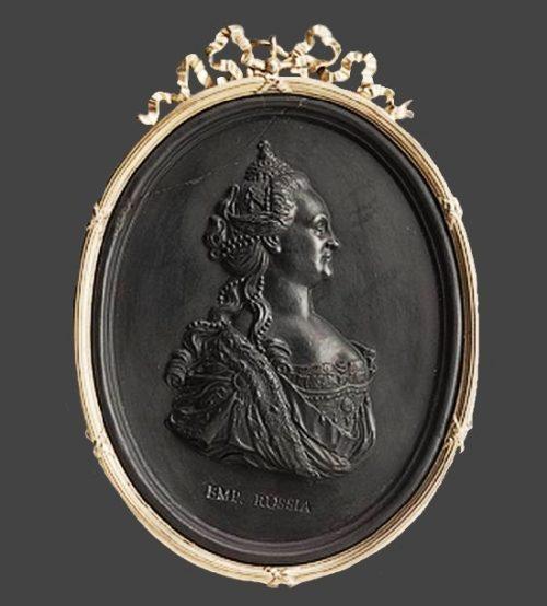 Russian Empress Catherine II cameo
