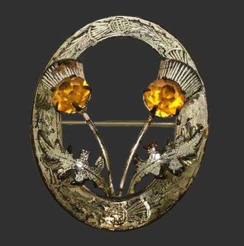 Thistle Scottish Celtic Pin