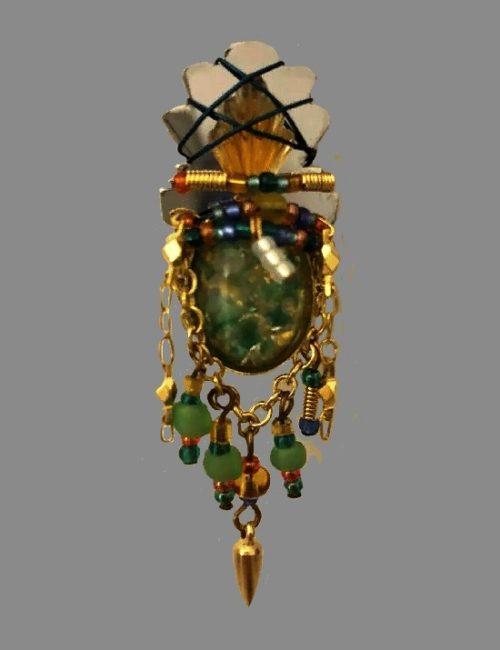 Vintage 1998 Pineapple Pin Brooch