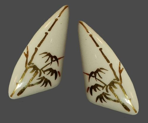 Milvern porcelain costume jewelry