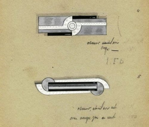 Art Deco Brooch Sketches
