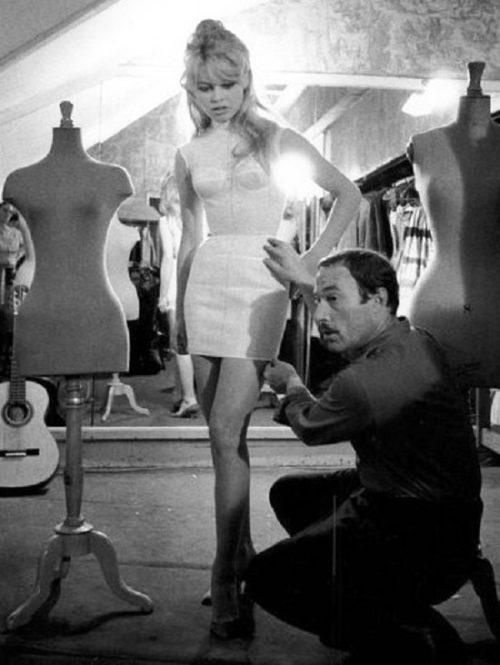 Brigitte Bardot and Jacques Esterel