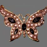 Signed Wlind vintage costume jewelry