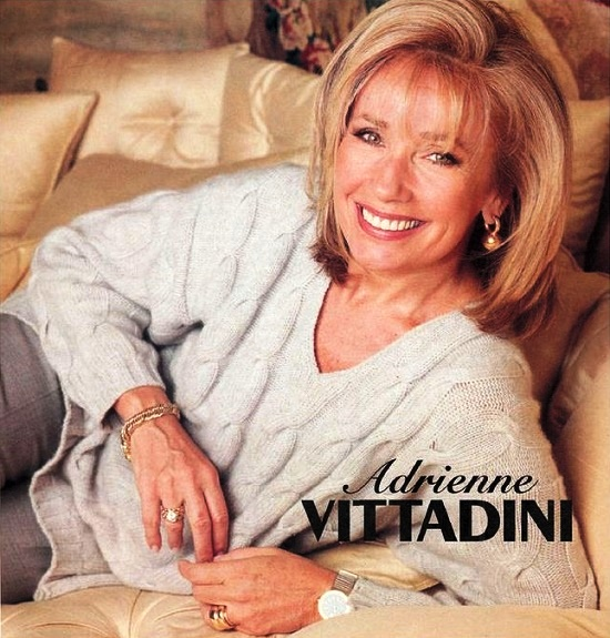 Fashion designer, model, and business lady Adrienne Vittadini (born in 1944)