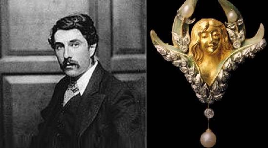 Parisian modernist jeweler Louis Aucoc (1850-1932)