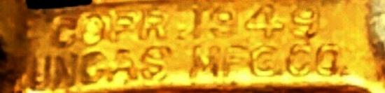 signature of 1949