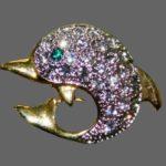 Signed NLH Landau vintage costume jewelry