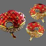 Vintage Norma Jean costume jewelry