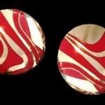 Signed Duri vintage costume jewelry