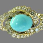 American jewelry designer Fred Leighton