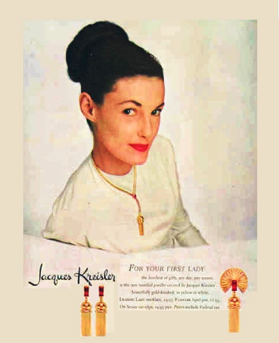 Poster featuring collection 'For your First Lady'. 1946